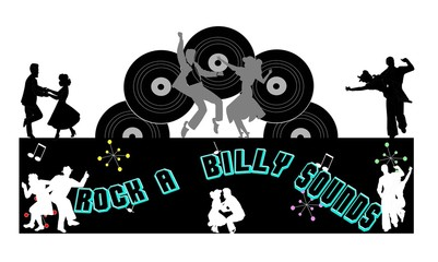 rock a billy sounds