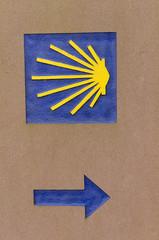 Symbol des Jakobsweg