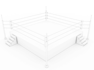 drawing the boxing ring #2