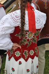 Góralski strój ludowy