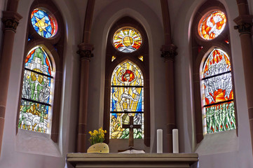 evangelische Kirche Saarburg