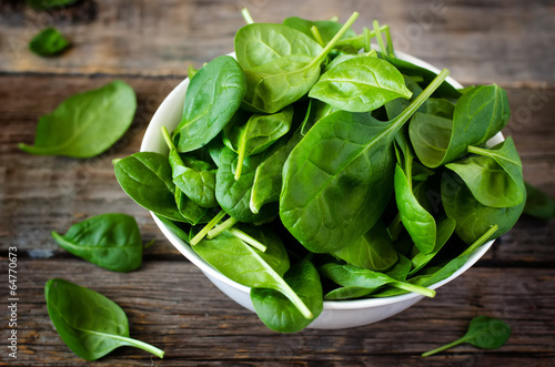 In de dag Kruiden spinach