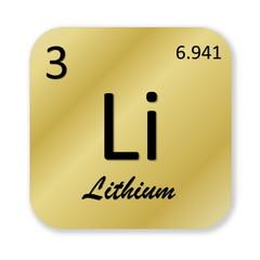 Lithium element