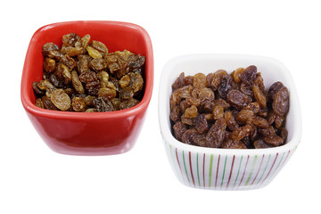Bowls of Raisins