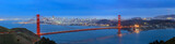 Fototapety Golden Gate Bridge and downtown San Francisco