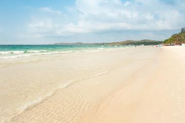Wave and Sand beach