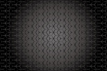 Wire mesh-like wallpaper black
