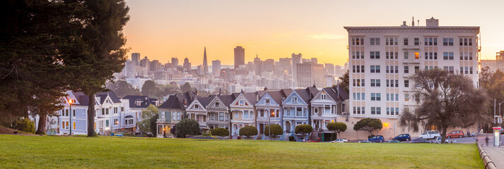 The Painted Ladies of San Francisco, USA.
