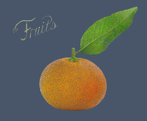 Fruits theme background