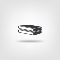 Book sign icon