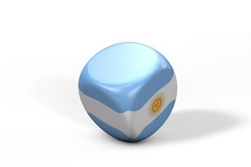 Argentienen Würfel