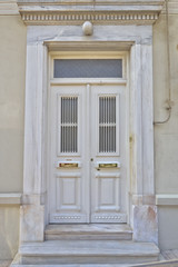vintage house door, Athens Greece