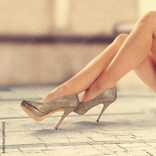 canvas print picture legs