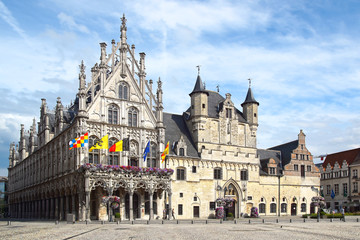 Stadhuis, Mechelen Town Hall.