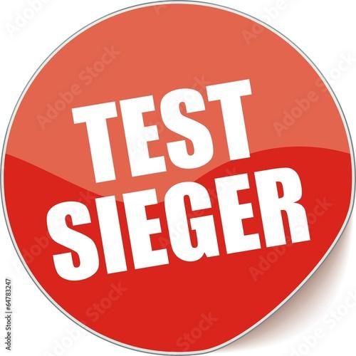 étiquette test sieger