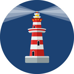 Vector Lighthouse