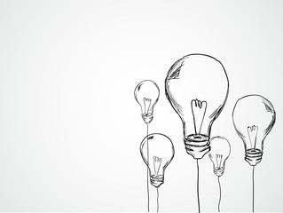 Bulbs Sketch Vector
