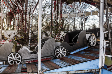 Abandoned car's carousel