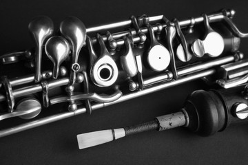 Musical instruments oboe