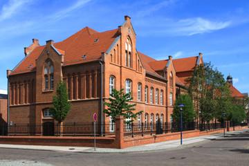 Dr. Frank Gymnasium in Staßfurt im Salzlandkreis