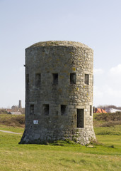 loophole towers in Guernsey that guard the coastline.