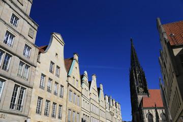 Prinzipalmarkt mit Lambertikirche