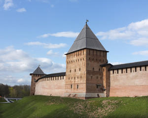 Towers of Novgorod Kremlin
