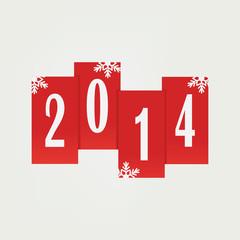 Illustration on New year