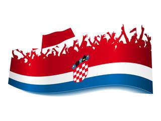 2014 Gruppen Schild - Kroatien