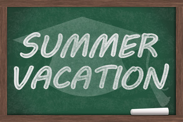 Summer Vacation Message