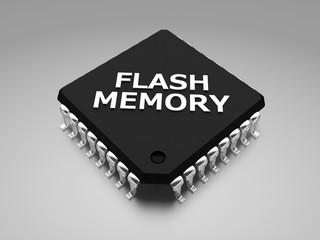 Flash memory (EEPROM)