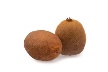 Two kiwi fruit