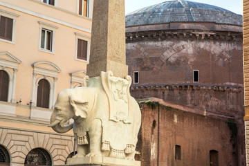 Obelisco della Minerva in Rome