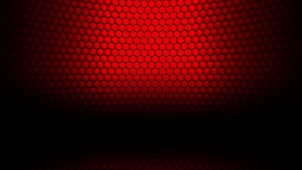 hexgonal particles background