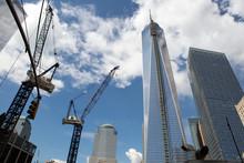 Fototapete - World Trade center building, New York