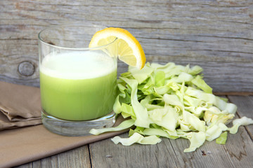Fresh cabbage juice