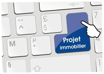 clavier projet immobilier