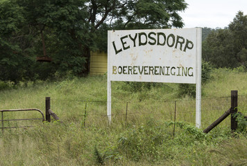 old abandon gold mine village leydsdorp