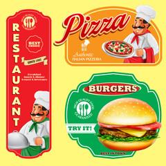 food restaurant pizza