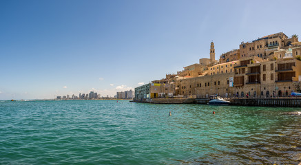 Jaffa and Tel-Aviv panorama