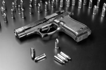 Dark pistol