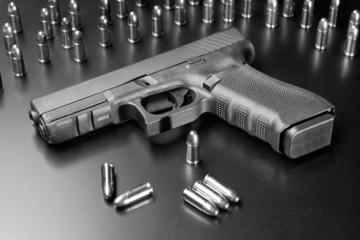 Dark handgun