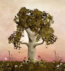 Enchanted nature series - Spring tree