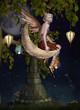 Obrazy na płótnie, fototapety, zdjęcia, fotoobrazy drukowane : Fairy night