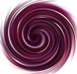 Vector background swirling purple liquid
