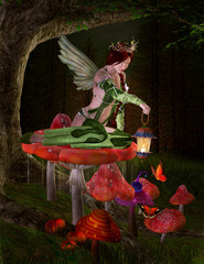Midsummer night's dream series - Queen of fairies