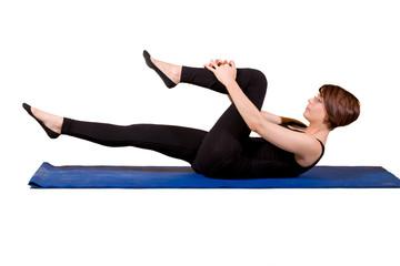 Pilates - Singlr Leg Stretch