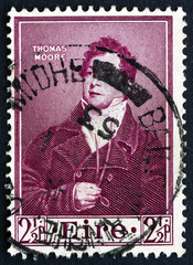 Postage stamp Ireland 1952 Thomas Moore, Poet