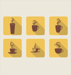 Cafe flat icon