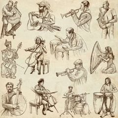 Musicians and Music around the World (set no. 2, paper)